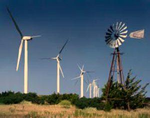 Arburckle Mountains Windfarm, Davis Oklahoma